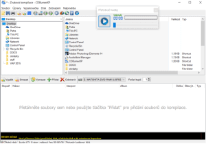 CDBurner - audio disk